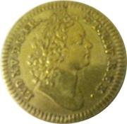 Louis XV et Philippe D'Orléans – avers