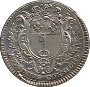 Louis XV - Ville d'Angers – revers