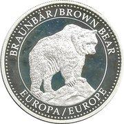 Bedreigde Dieren - Brown Bear Europe – avers