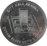 City Hall Regina token – avers
