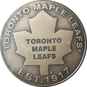 Toronto Maple Leafs medallion - Numbered Edition – avers