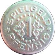 1 Pfennig (Spielgeld, Globe) – revers