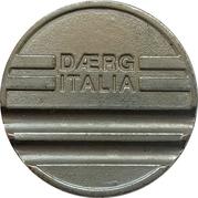 Jeton de lavage automobile - Daerg Italia – avers