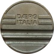Jeton de lavage automobile - Daerg Italia – revers