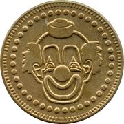 Token - No Cash Value (Clown; 22.8 mm) – avers