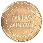 Metro Midway Pepsi Token – avers