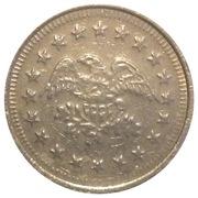 No Cash Value Eagle Token (23mm) – avers