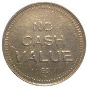 No Cash Value Eagle Token (23mm) – revers