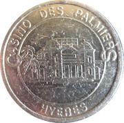 Casino de Hyeres (83) - 5 francs – revers