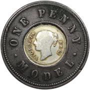 1 penny Victoria (