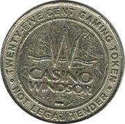 25¢ Casino Windsor – avers