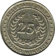 25¢ Casino Windsor – revers