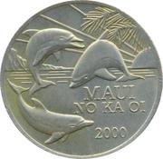 One Maui Trade Dollar – avers