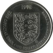 Token - Sainsbury's Official England Squad 1998 (Martin Keown) -  revers