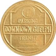 Guelph Parking & Transit Token – revers