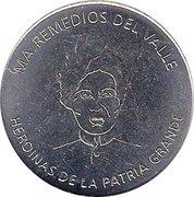 María Remedios del Valle (Heroines of the Patria Grande) – avers