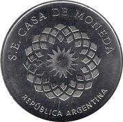 Micaela Bastidas (Heroines of the Patria Grande) – revers