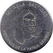 Micaela Bastidas (Heroines of the Patria Grande) – avers