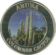 Aruba Columnar Cactus Casino Token – avers