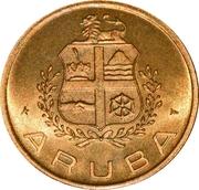 's Rijksmunt, Aruba – avers