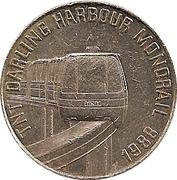 TNT Darling Harbour Monorail token – revers