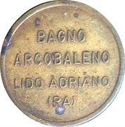 Bagno Arcobaleno (Beach Token) – avers