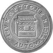 Jukebox Token - Gettone Apparecchi Automatici (Union Sport) – revers