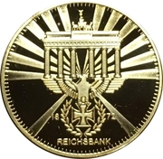 Old Gold-Style Medal – avers