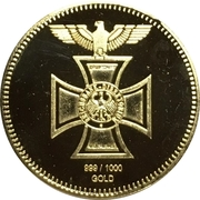 Old Gold-Style Medal – revers