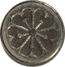 Flower Medal – revers