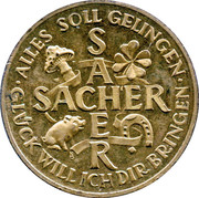 Sacher Token – revers