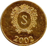 Sacher Token – avers
