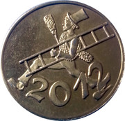 2012 Lucky Token – avers