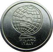 Milano MMC Token (3 spaced grooves) – avers