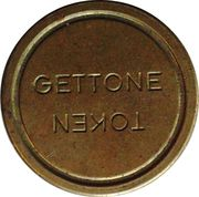 Token Gettone (Grand Diamètre) – revers