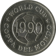 World Cup - Coppa Del Mondo - 1990 - Écosse -  revers