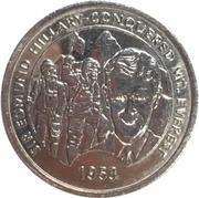 Millenium Medal - Edmund Hillary – avers