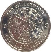 Millenium Medal - Edmund Hillary – revers