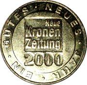 NEUE KRONEN ZEITUNG 2000 – revers