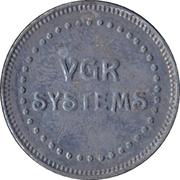 Arcade Token - VGR Systems – avers