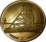 "Sudbury ""Numismatic Park"" Promotional Medallion - Model Mine 1965 – avers"
