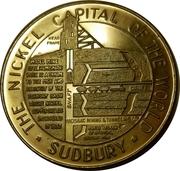 "Sudbury ""Numismatic Park"" Promotional Medallion - Model Mine 1965 – revers"