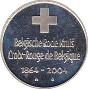 Jeton Monnaie Royale Belge 2004 -  avers
