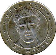 Jeton World Cup'94 Dirk Medved – avers