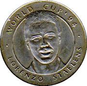 Jeton World Cup'94 Lorenzo Staelens – avers