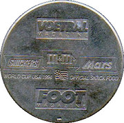 Jeton World Cup'94 Lorenzo Staelens – revers