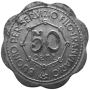 S.T.E.C.A.V. - 50 centesimi – revers