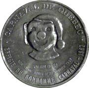 Dollar Carnaval de Québec – revers