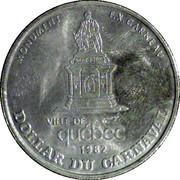 Dollar Carnaval de Québec – avers