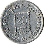S.T.E.C.A.V. - 20 centesimi – revers